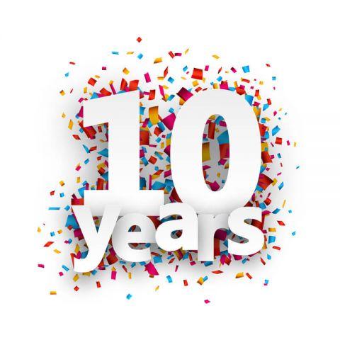 10-jähriges Praxisjubiläum