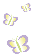 Kinderzahnarzt München - Drei Schmetterlinge