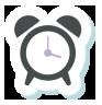 Wecker Icon - Lachzahn Kinderzahnarzt